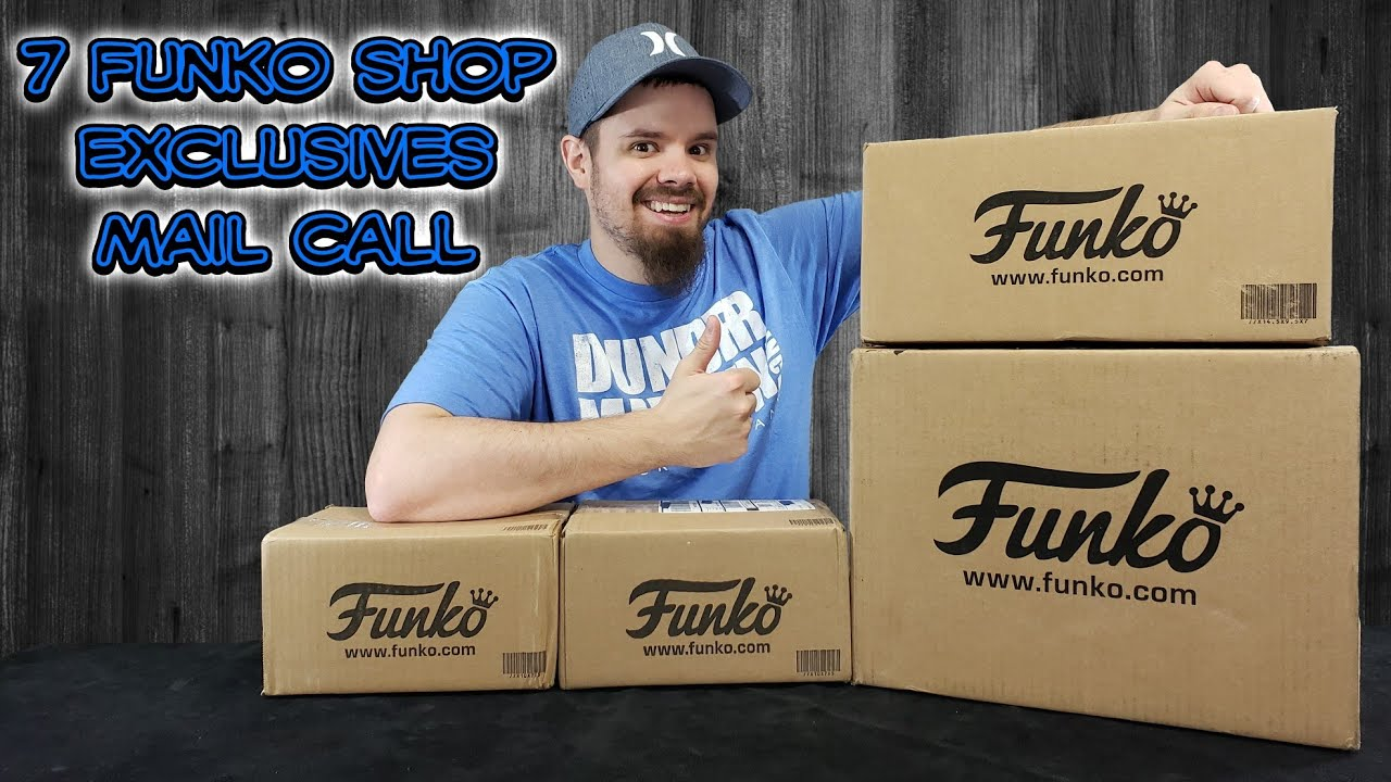 7 Funko Shop Exclusive Mail Call Saved a Ton on shipping!!!!