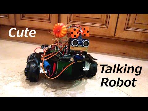 Talking Autonomous Robot