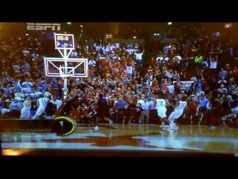 Jonathan Holmes Texas basketball game winner number 1 top ten ESPN play. Kevin durant