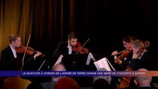 Yvelines | Découverte du quatuor à cordes de l'armée de terre