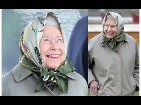 Королева Англии ШОКИРОВАЛА выходом в платке, юмор 2019