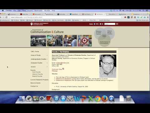 Academia & Websites: Let Me Show You the Problem