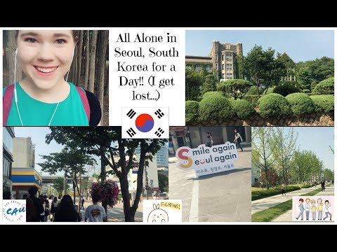 All Alone in Seoul for a Day!! (aka getting lost...)