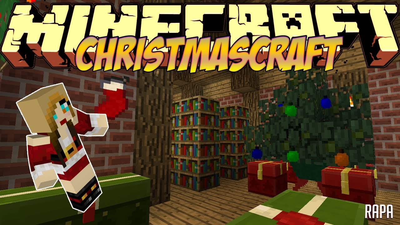 Моды minecraft christmas craft