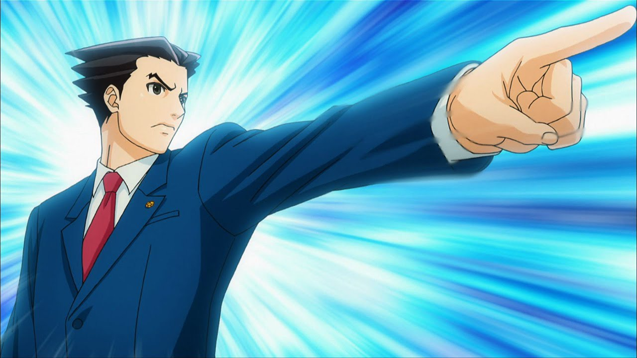 Ace Attorney Anime Review Cgmagazine