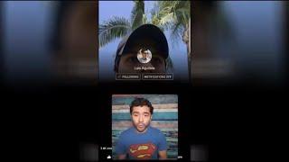 Luis Alberto Aguilera comparte Live en Facebook Parte 2 Reacción en Español