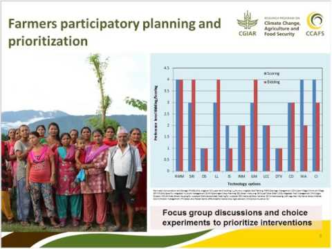 Tools and approaches to prioritising CSA interventions in South Asia