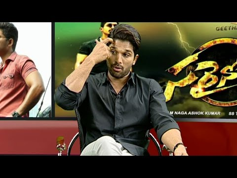 Allu Arjun About Music Director Thaman And Blockbuster Songs || #Sarrainodu || Vanitha TV