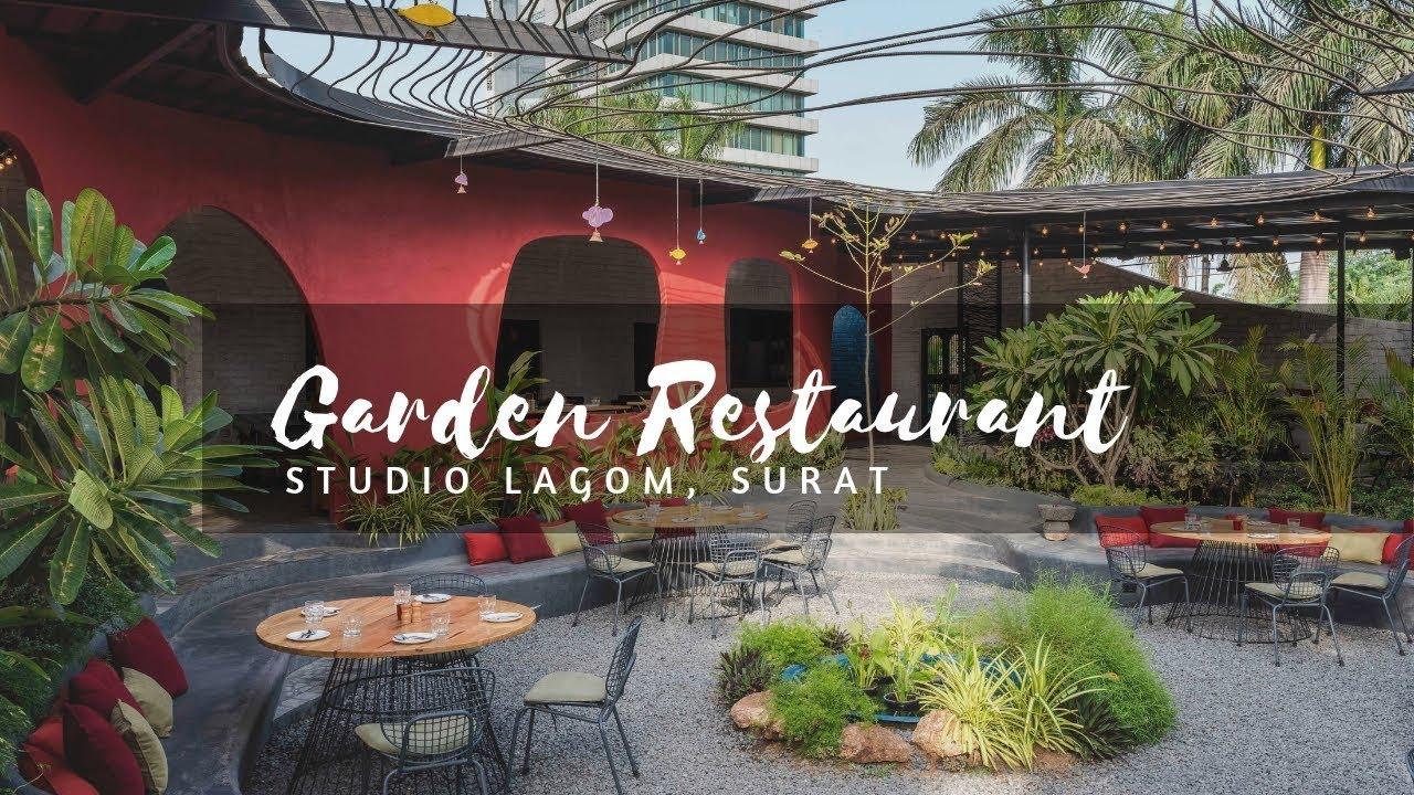 Garden Restaurant Design | Studio Lagom - YouTube