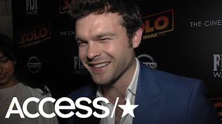 'Solo': Alden Ehrenreich Calls 'Star Wars' Spinoff A Great Adventure Story | Access thumbnail