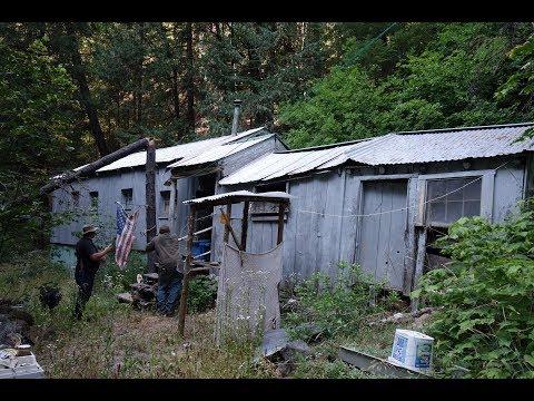 Secret Miner's Cabin & Mines In The Sierra Nevada - Part 1