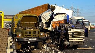 Best truck crashes, truck accident compilation 2016 Part 10