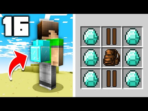 16 Viral Crafting Recipes in Minecraft 1.16!