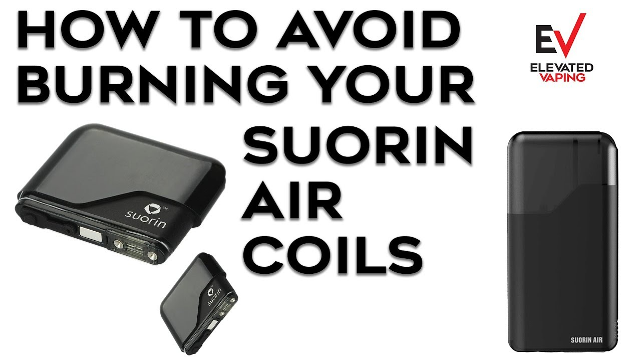 How to AVOID BURNING your SUORIN AIR COILS!!