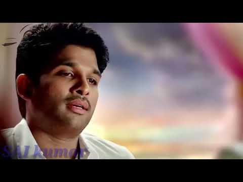 Alluarjun emotional sence in son of Sathyamurthy