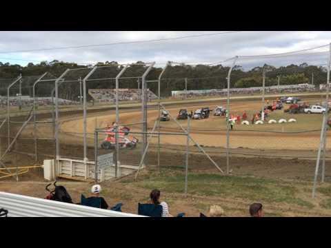 Sprintcars Hotlaps Group 2 Latrobe Speedway 5/12/15