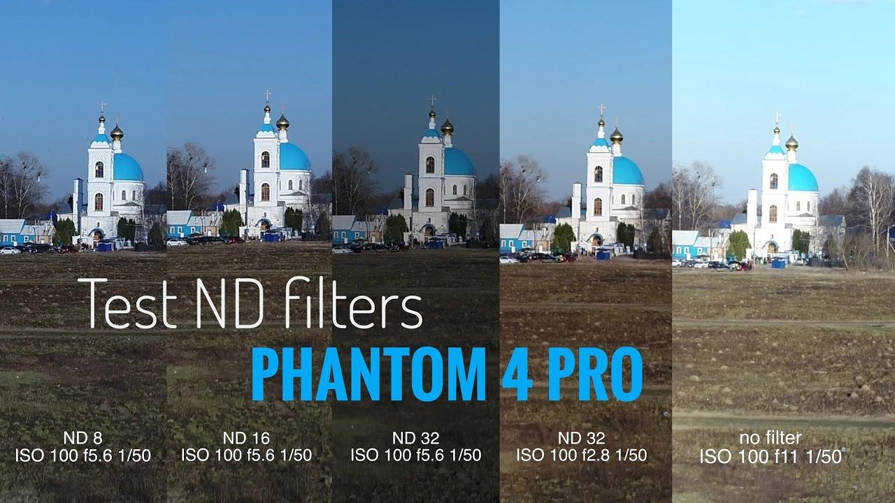 Dji Phantom Pro >> Test PGYTECH ND Filters Phantom 4 Pro - YouTube