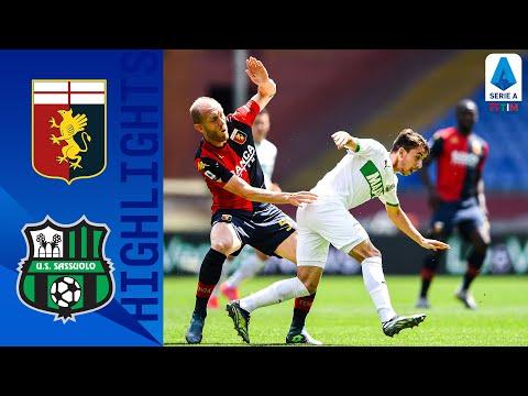 Genoa Sassuolo Goals And Highlights