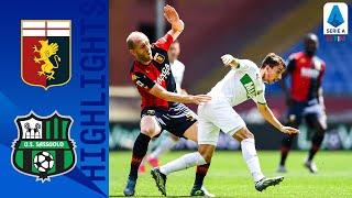 Genoa 1 2 Sassuolo Berardi Strike Seals Away Win For Sassuolo Serie A TIM