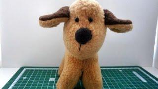 Как сделать мягкую игрушку собачку