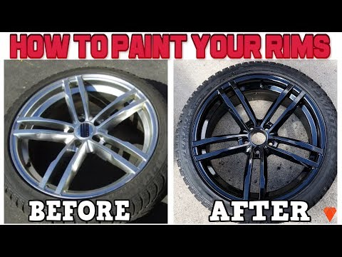 How To Restore And Paint Rims For Cheap