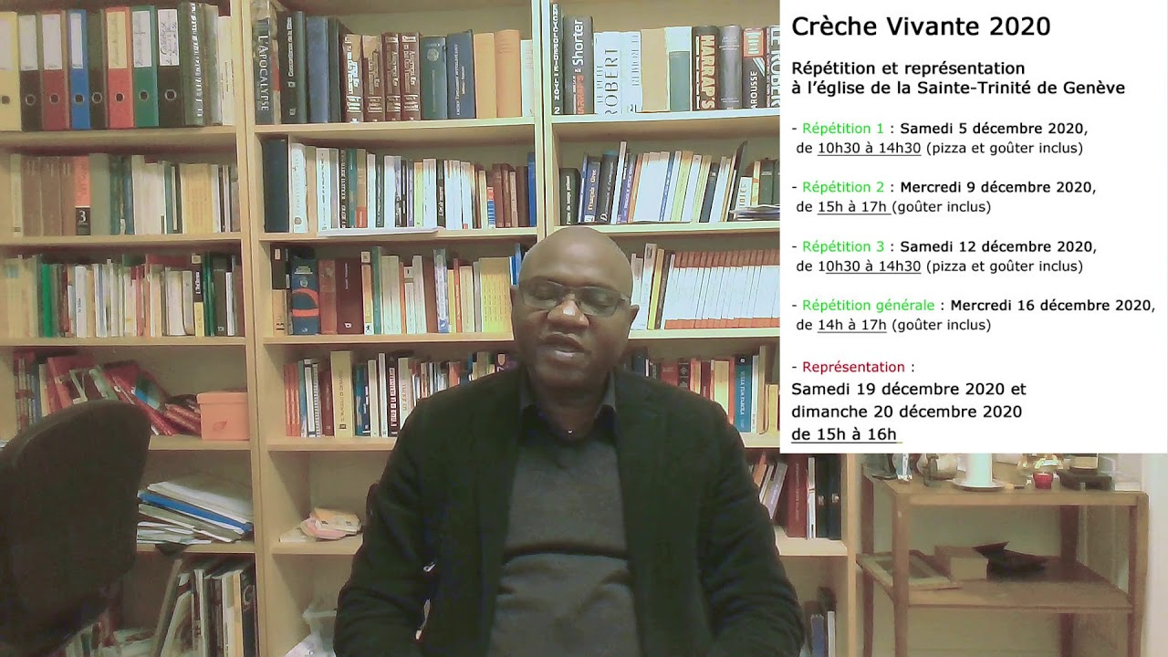 Message de l'abbé Côme Traoré du 4 décembre 2020