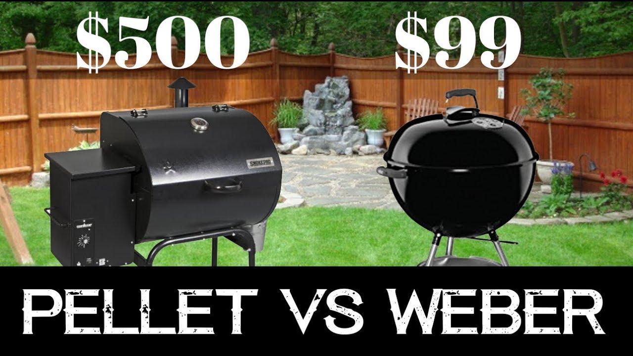 500 Pellet Grill Vs 99 Weber Beer Can Chicken Review