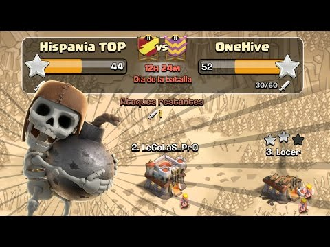 Hispania TOP vs OneHive | Clash of Clans