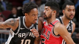 Chicago Bulls vs San Antonio Spurs Full Game Highlights | January 27, 2019-20 NBA Season