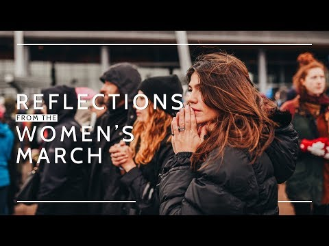 Happy International Women's Day  Women's March Reflections by Genevieve Padalecki