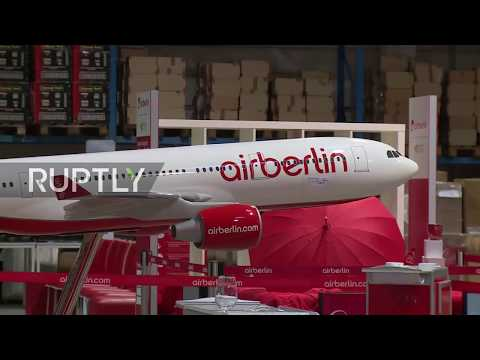 Germany: From seats to coffee mugs: defunct airline Air Berlin auctions entire stock
