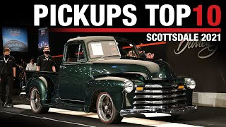 PICKUPS TOP 10: Bestselling pickup trucks at the 2021 Scottsdale Auction