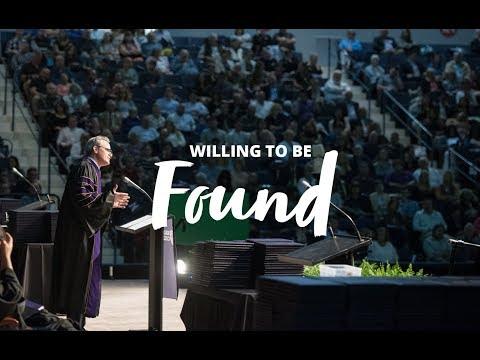 Dear Evan Hansen's Michael Park '90 gives the 2018 Nazareth College Commencement address
