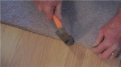 Carpet Cleaning & Installation : How to Install Carpet in Doorways