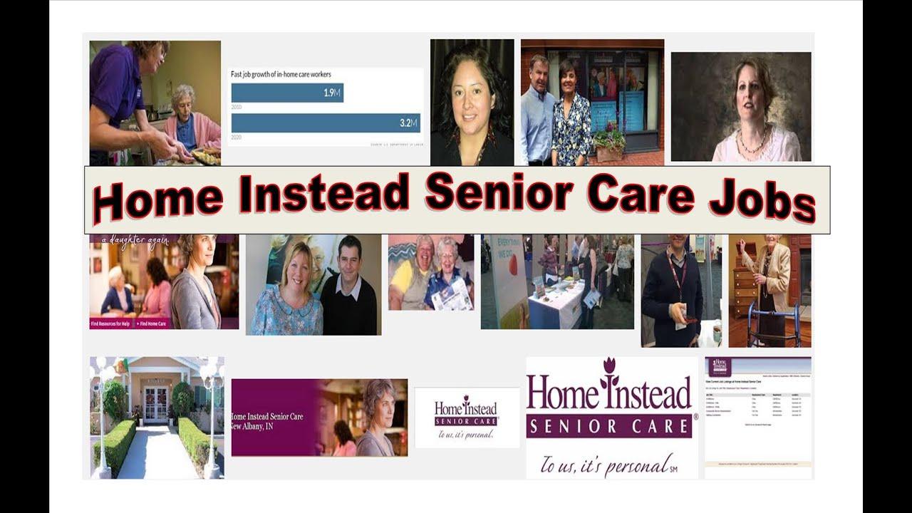 Home Instead Senior Care Jobs - YouTube