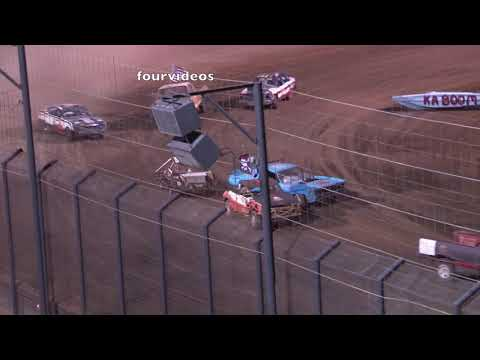 Perris Auto Speedway Night of Destruction 7 27 19 Demo Cross Main Event
