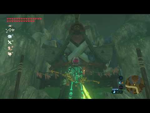 Dark Link!!! Ancient Armor Horse Fairy Legend of Zelda Breath of the Wild Gameplay w/Kailasa