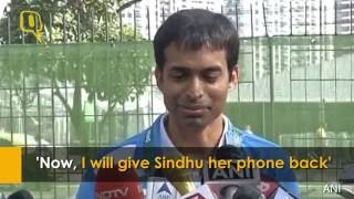India's badminton coach Pullela Gopichand said that after Sindhu lost the singles final to Carolina Marin, he asked the badminton player to forget about the ...