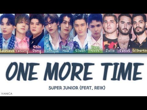 Free Download Super Junior - One More Time (otra Vez) (feat. Reik) (color Coded Han/rom/eng Lyrics/가사) Mp3 dan Mp4