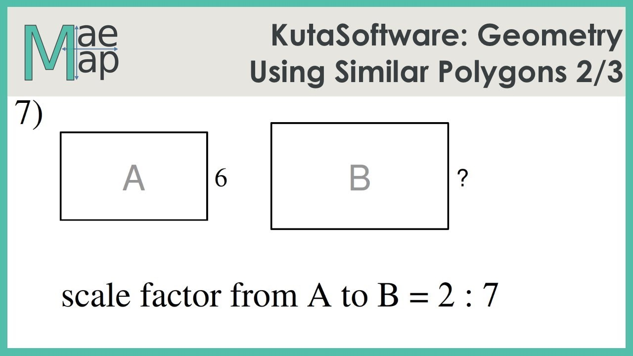 Kutasoftware Geometry Using Similar Polygons Part 2 Youtube