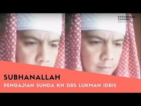 PENGAJIAN SUNDA PALING LUCU KH DRS LUKMAN IDRIS