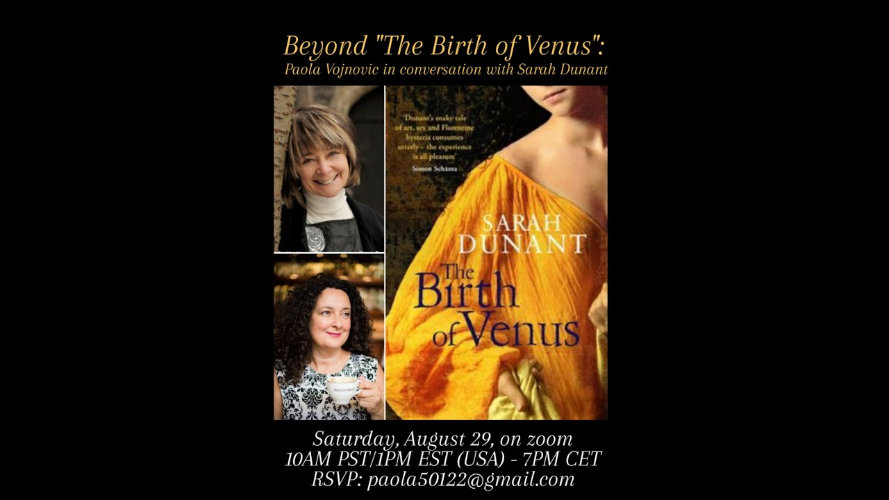 "#03 ""'The Birth of Venus' and Beyond"" an interview with Sarah Dunant"