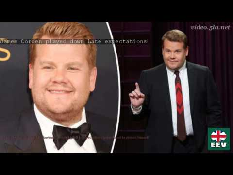 James Corden played down Late expectations
