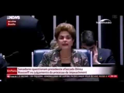 Dilma Rousseff falando tudo errado não é 30% é 30  por % mais 20%
