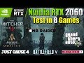 RTX 2060 Test in 8 Games