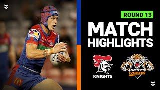 Knights v Wests Tigers | Round 13 2020 | Telstra Premiership | NRL