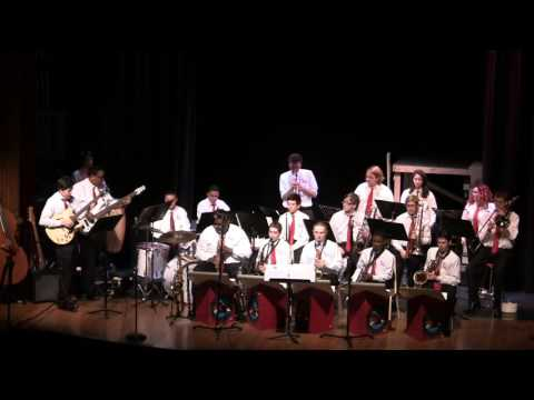 Manchester High School Jazz Band benefit concert part 3 of 3