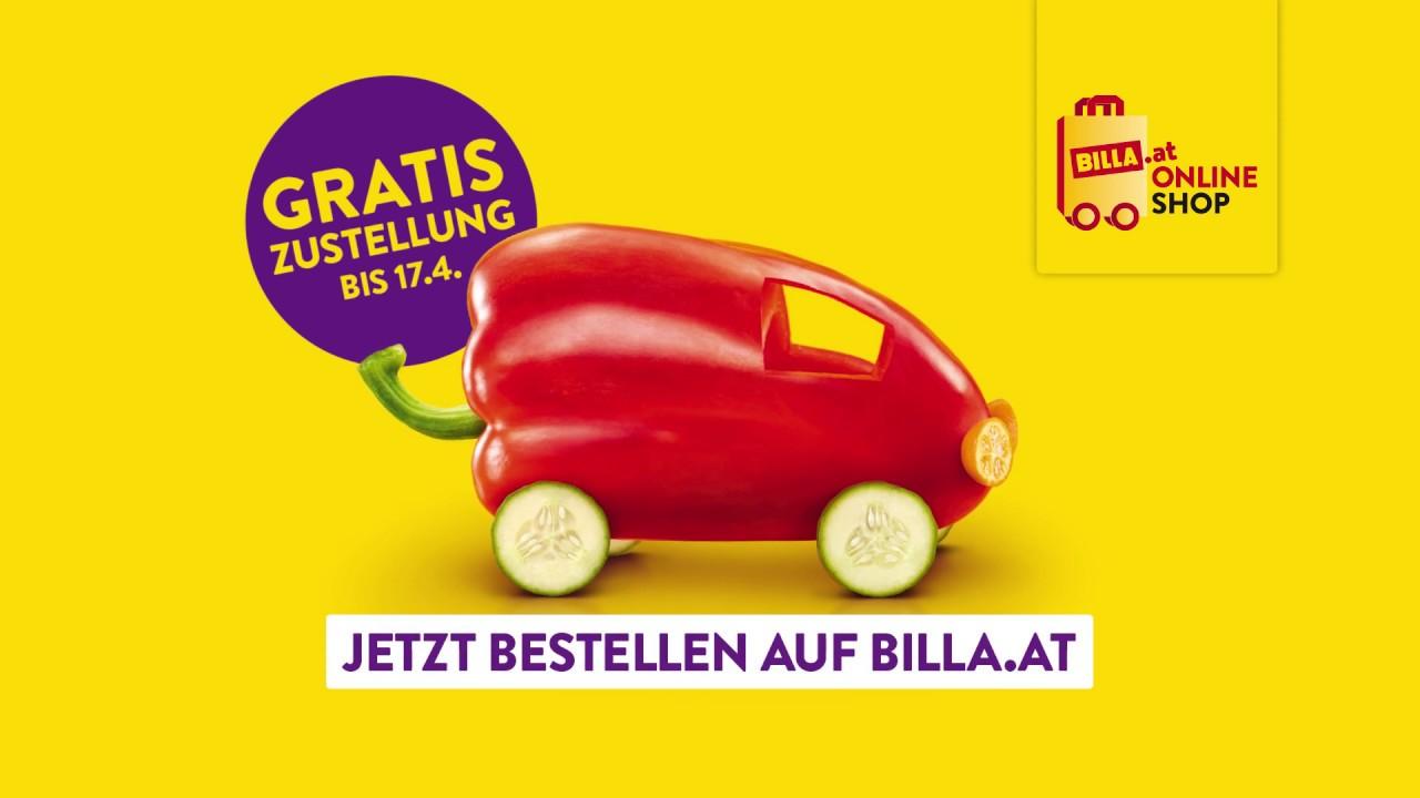 Billa Online Shop Gratis Lieferung Bis 17042019
