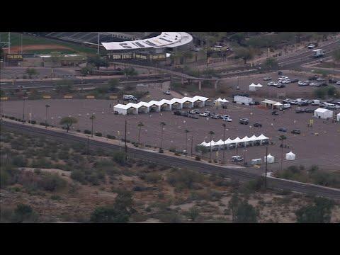 Arizona Opens COVID-19 Mass Vaccination Site