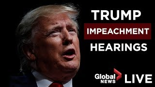 Donald Trump impeachment inquiry open hearing, Day 1 | FULL